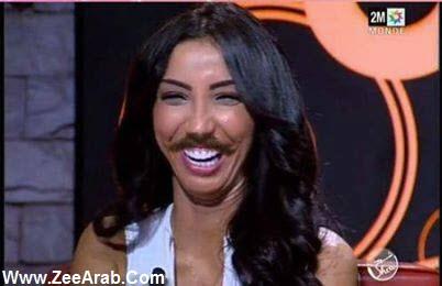 Rachid Show Avec Dounia Batma – Moustacha | Rachid Show