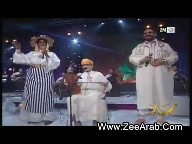 Abdo Lwazani Ft Chama Zaz Ft Mohamed Laroussi ,عبدو الوزاني وشامة الزاز ومحمد لعروسي