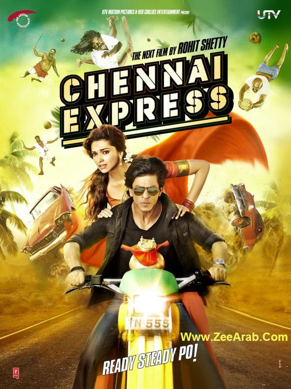 "Film Hindi "" Chennai Express "" 