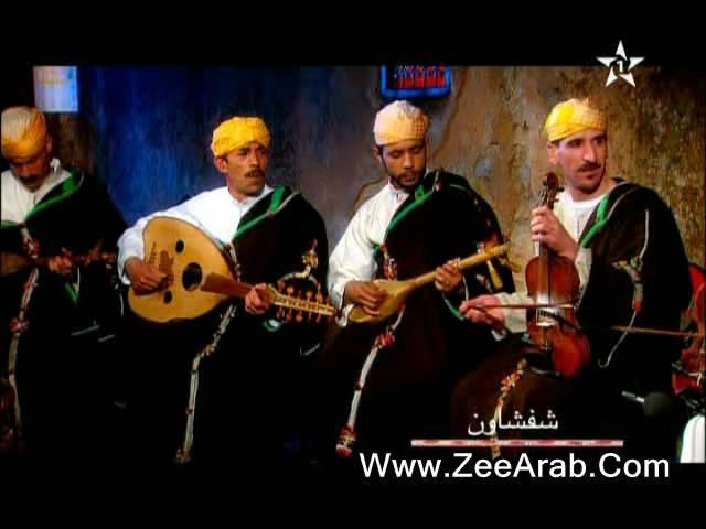 Groupe Khomssi ,مجموعة الخمسي للطقطوقة الجبلية بمدينة الشفشاون للمديح النبوي