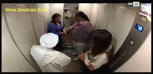 Camera Cachee Jar w Majrour - كاميرا خفية جار ومجرور الحلقة 16 - مع لمياء الزايدي