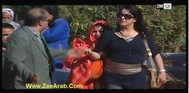 Camera Cachee Jar w Majrour - كاميرا خفية جار ومجرور الحلقة 28 - مع مجيدة بنكيران