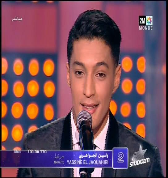 Yassine El Jaouahiri Sur Studio 2m - 2013 Yassine El Jaouahiri - Bin Idaya - استوديو دوزيم 2013 ياسين الجواهري على استوديو دوزيم